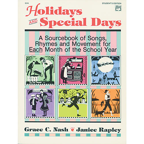 Alfred 3516 Sheet Mu Holidays and Special D Student E