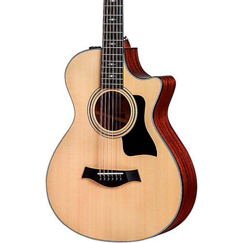 Taylor 352ce V-Class 12-Fret Grand Concert 12-String Acoustic Electric Guitar Natural