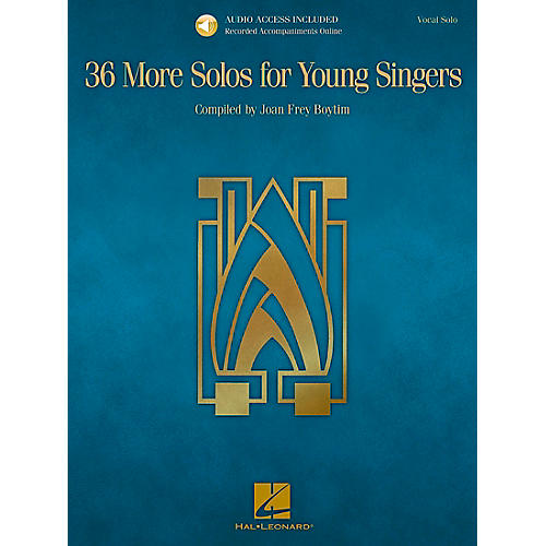 Hal Leonard 36 More Solos For Young Singers - Book/CD