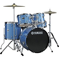 Yamaha Gigmaker 5-Piece Standard Drum Set With 22 Bass Drum Blue Ice Glitter