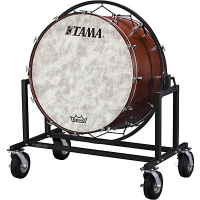"Tama Marching 36x22"" Field Bass Drum With Cart"