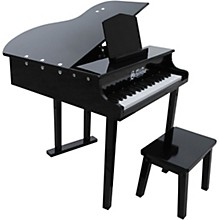 37-Key Concert Grand Toy Piano Black