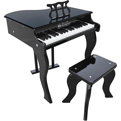 Schoenhut 37-Key Elite Baby Grand Toy Piano Black