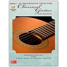 Cherry Lane 39 Progressive Solos for Classical Guitar 1 Book/Online Audio