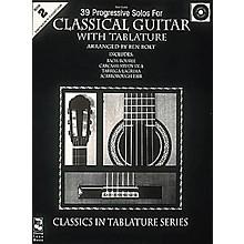 Cherry Lane 39 Progressive Solos for Classical Guitar 2 (Book/CD)