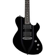 3D Model Electric Guitar Black