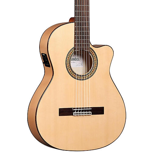 Alhambra 3F CT Flamenco Acoustic-Electric Guitar Gloss Natural