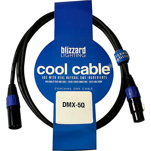 Blizzard 3PIN XLRM XLRF 120OHM DMX CABLE 5 ft.