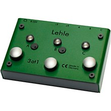 Lehle 3at1 SGoS Switcher With MIDI for 3 Instruments to Amp or Tuner