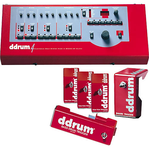 Ddrum 4 Brain and Trigger Package