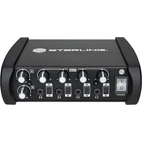 Sterling Audio 4 Channel Professional Headphone Amplifier