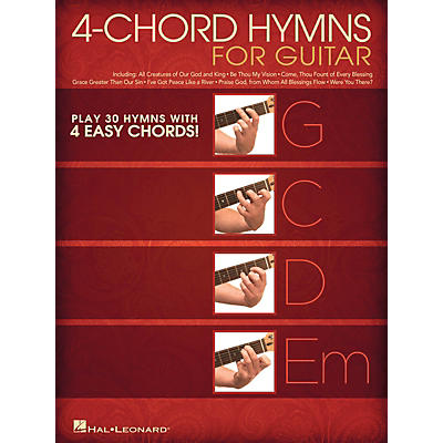 Hal Leonard 4-Chord Hymns for Guitar Guitar Collection Series Softcover