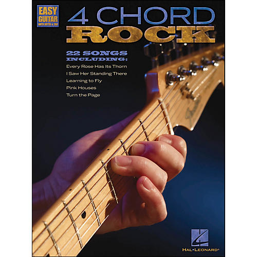 Hal Leonard 4 Chord Rock - Easy Guitar with Tab