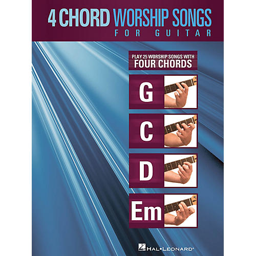Hal Leonard 4-Chord Worship Songs for Guitar Guitar Collection Series Softcover Performed by Various