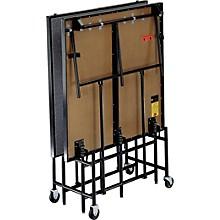 4' Deep x 8' Wide Mobile Stage 16 Inch High Hardboard Deck
