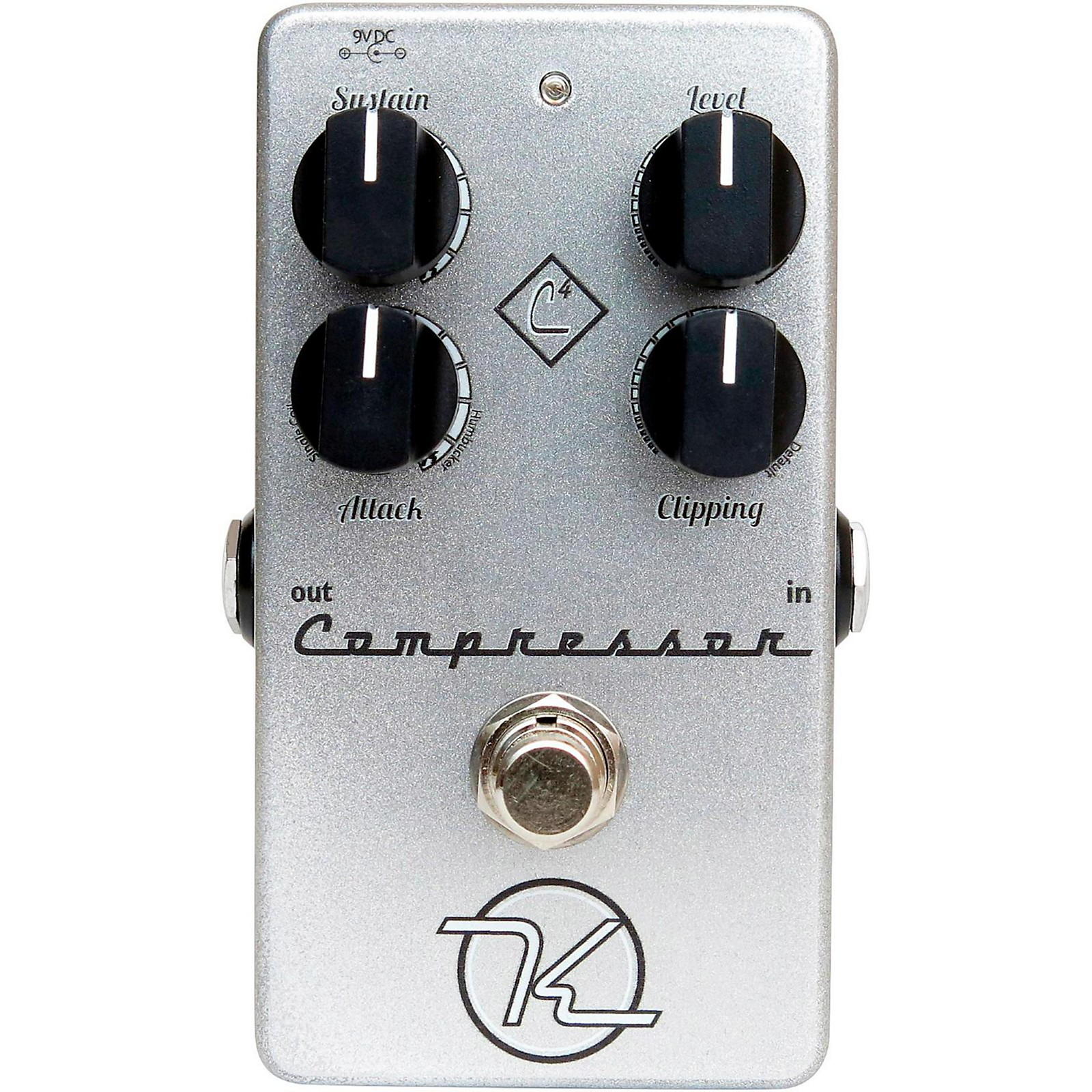 Keeley 4-Knob Compressor Guitar Effects Pedal