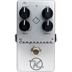 keeley 4 knob compressor guitar effects pedal musician 39 s friend. Black Bedroom Furniture Sets. Home Design Ideas