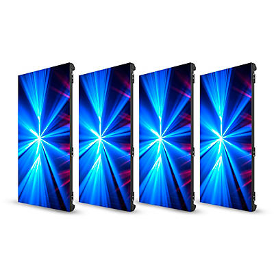 CHAUVET DJ 4-Pack of Vivid 4 Modular Video Panels with Road Case