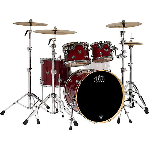 DW 4-Piece Performance Series Shell Pack Cherry Stain Lacquer