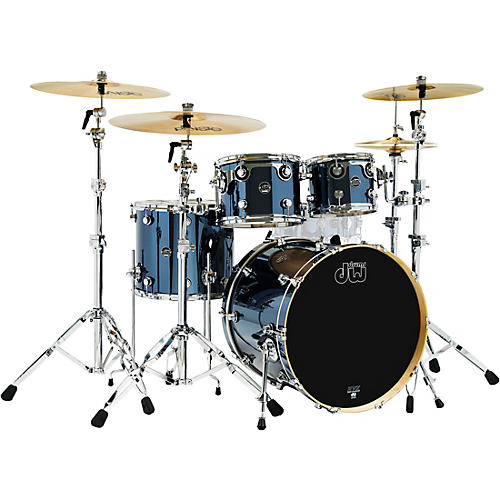 DW 4-Piece Performance Series Shell Pack Chrome Shadow