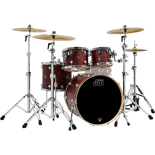 DW 4-Piece Performance Series Shell Pack Tobacco Stain