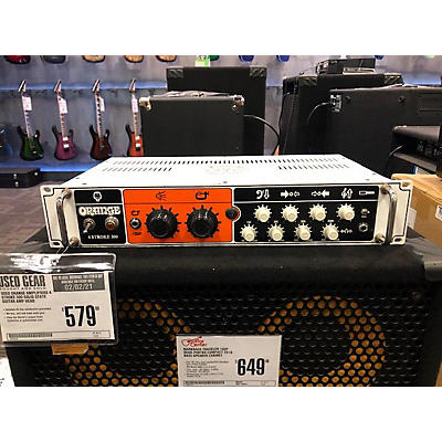 Orange Amplifiers 4 Stroke 300 Solid State Guitar Amp Head
