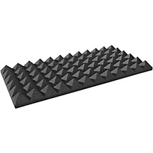 "Open Box Auralex 4"" Studiofoam Pyramid 2'x2'x4"" panels (6 pack)"