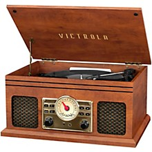 Victrola 4-in-1 Nostalgic Bluetooth Record Player with Radio