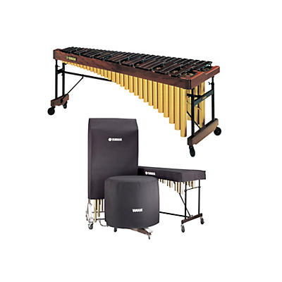 Yamaha 4.3 Octave Professional Rosewood Marimba
