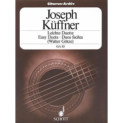 Schott 40 Easy Duets (Two Guitars) Schott Series