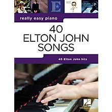 Hal Leonard 40 Elton John Songs (Really Easy Piano Series) Songbook