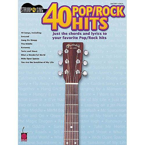 Cherry Lane 40 Pop/Rock Hits Book