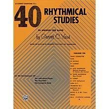 Alfred 40 Rhythmical Studies B-Flat Cornet (Trumpet)