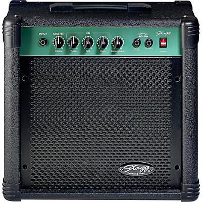"""Stagg 40 Watt 10"""" Bass Amplifier"""