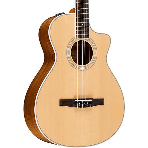 taylor 400 series 412ce n grand concert nylon string acoustic electric guitar musician 39 s friend. Black Bedroom Furniture Sets. Home Design Ideas