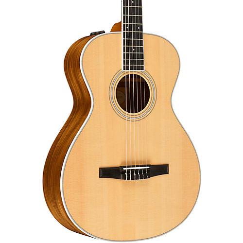 taylor 400 series 412e n grand concert nylon string acoustic electric guitar natural musician. Black Bedroom Furniture Sets. Home Design Ideas