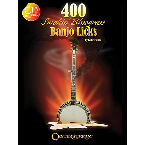 Hal Leonard 400 Smokin' Bluegrass Banjo Licks Book/CD