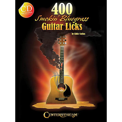 Hal Leonard 400 Smokin' Bluegrass Guitar Licks Book/CD