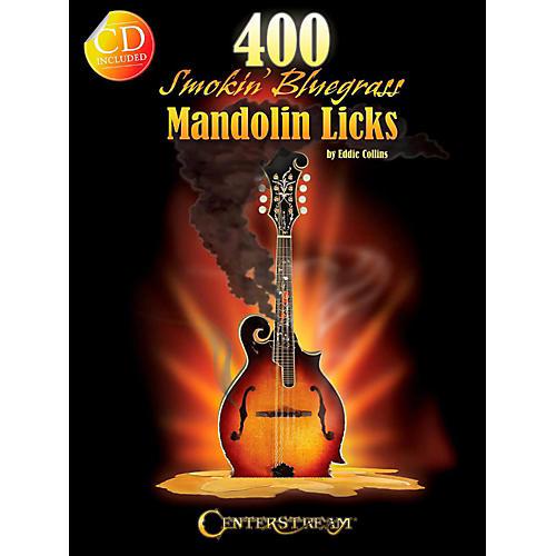 Centerstream Publishing 400 Smokin' Bluegrass Mandolin Licks Book/CD