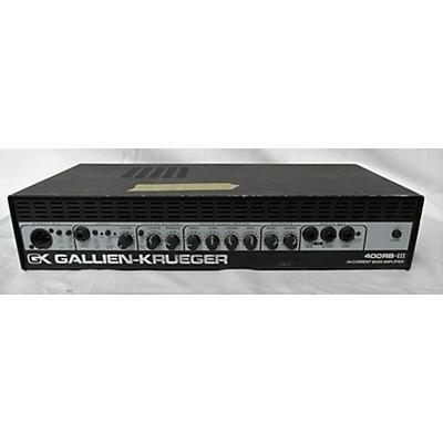 Gallien-Krueger 400RB III Bass Amp Head