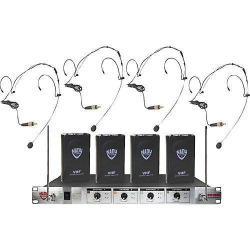 Nady 401X Quad HM-10 Headset Wireless System