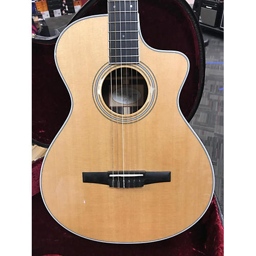 Taylor 412CE-NR Classical Acoustic Electric Guitar Natural