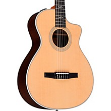 Taylor 412ce-N Rosewood Grand Concert Nylon String Acoustic-Electric Guitar Regular