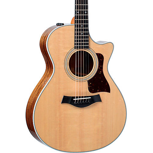 Taylor 412ce V-Class Grand Concert Acoustic-Electric Guitar Natural