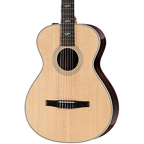 taylor 412e n r grand concert nylon string acoustic electric guitar natural musician 39 s friend. Black Bedroom Furniture Sets. Home Design Ideas