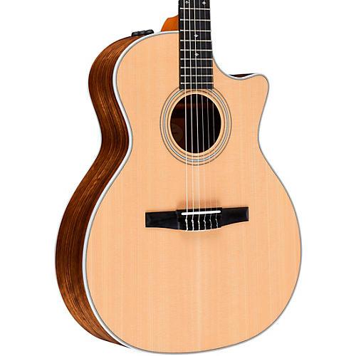 taylor 414ce n grand auditorium nylon string acoustic electric guitar natural musician 39 s friend. Black Bedroom Furniture Sets. Home Design Ideas