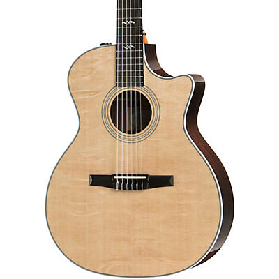 Taylor 414ce-N Grand Auditorium Nylon-String Acoustic-Electric Guitar