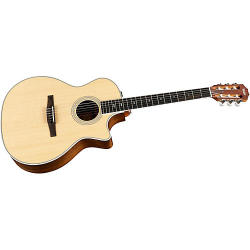 taylor 414ce n ovangkol spruce nylon string grand auditorium acoustic electric guitar musician. Black Bedroom Furniture Sets. Home Design Ideas