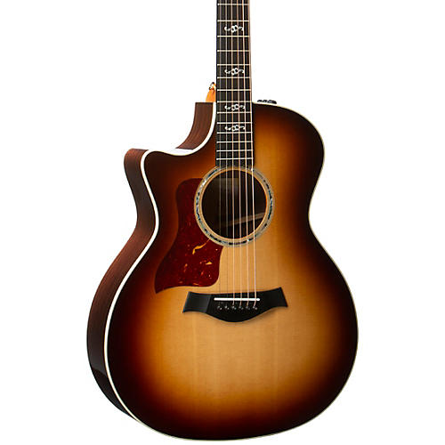 Taylor 414ce V-Class Special Edition Grand Auditorium Left-Handed Acoustic-Electric Guitar Shaded Edge Burst