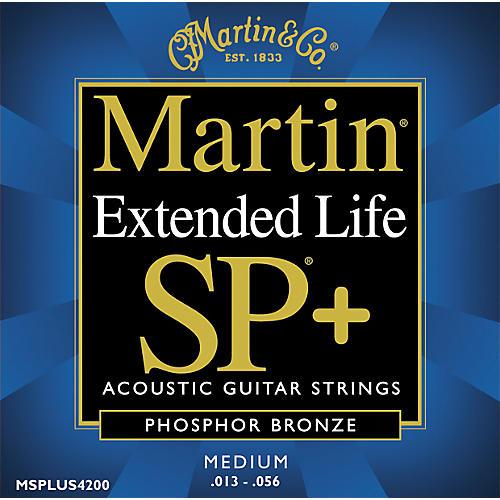 Martin 4200 Coated SP Plus Phosphor Bronze Medium Acoustic Guitar Strings